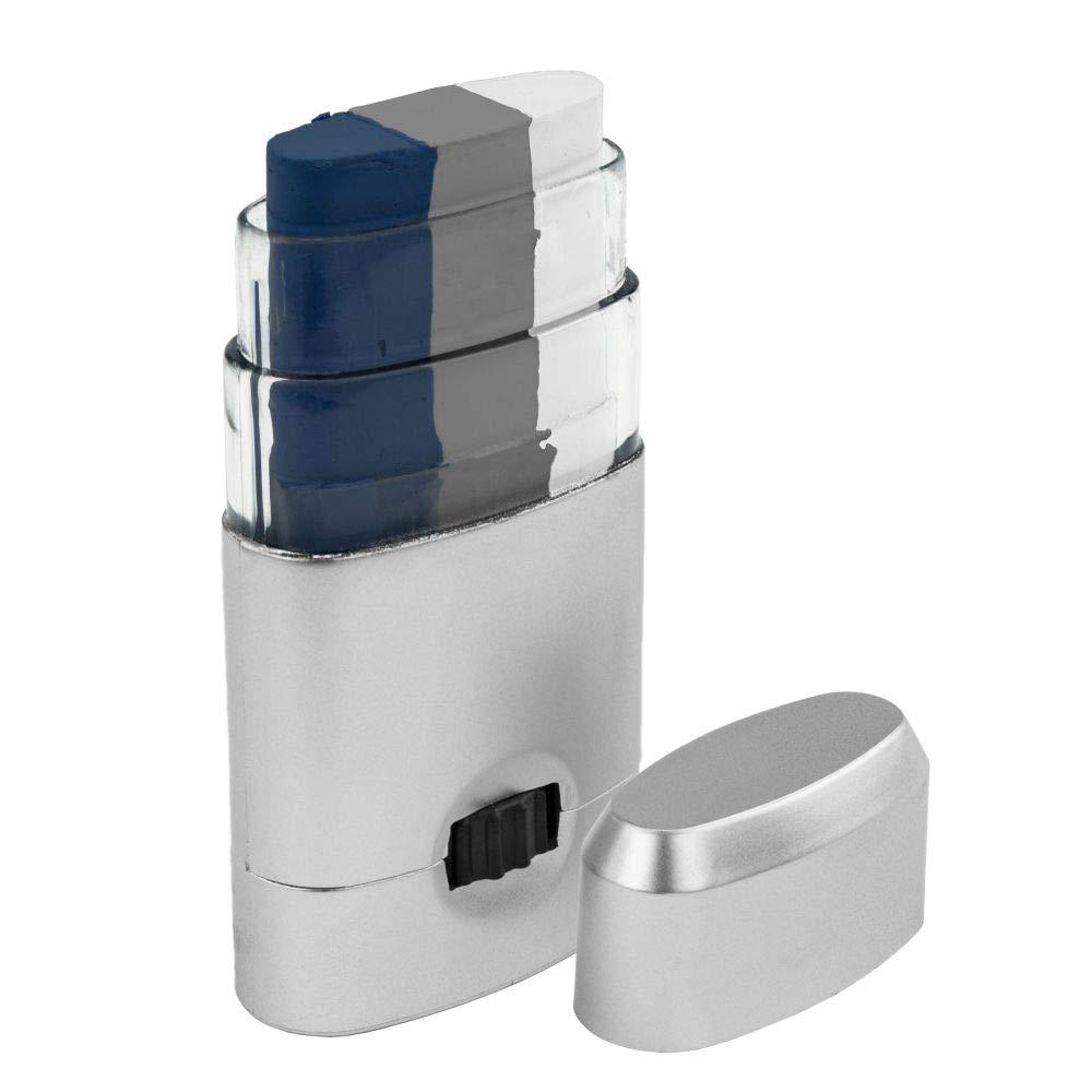 Artistry Closet ART-10003 Face Paint, Navy Blue Silver White