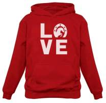Love Horses Animal Lover Rearing Horse Gift for Horse Lover Women Hoodie