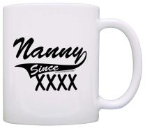 Personalized Mothers Day Gifts Nanny Since Add Year Custom Gift Coffee Mug Tea Cup White