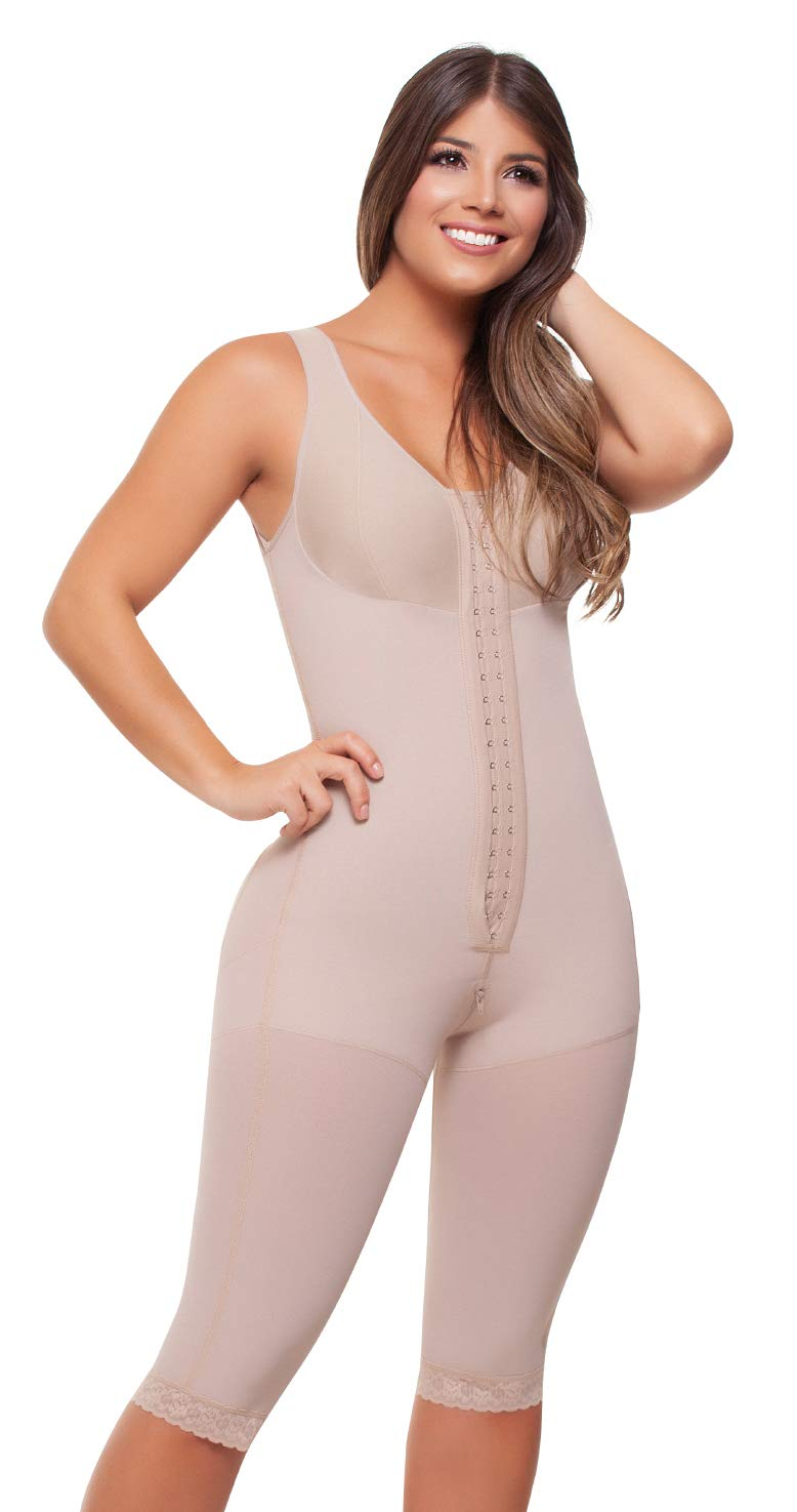 Fajitex Fajas Colombianas Reductoras y Moldeadoras High Compression Garments After Liposuction Full Bodysuit 023750