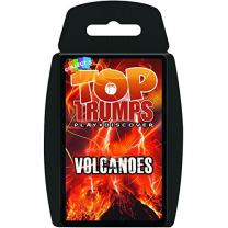 Volcanoes Top Trumps Card Game