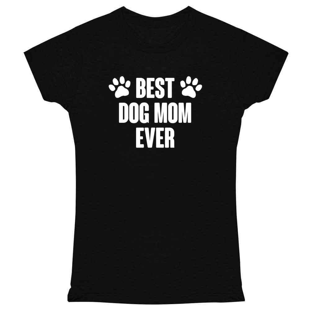 Pop Threads Funny Dogs Gifts for Dog Lover Puppy Doggo Cute Graphic Tee T Shirt for Women