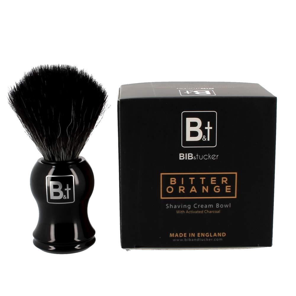 Bitter Orange Shaving Cream & Vegan Synthetic Brush – Bib & Tucker, Men Shave Care