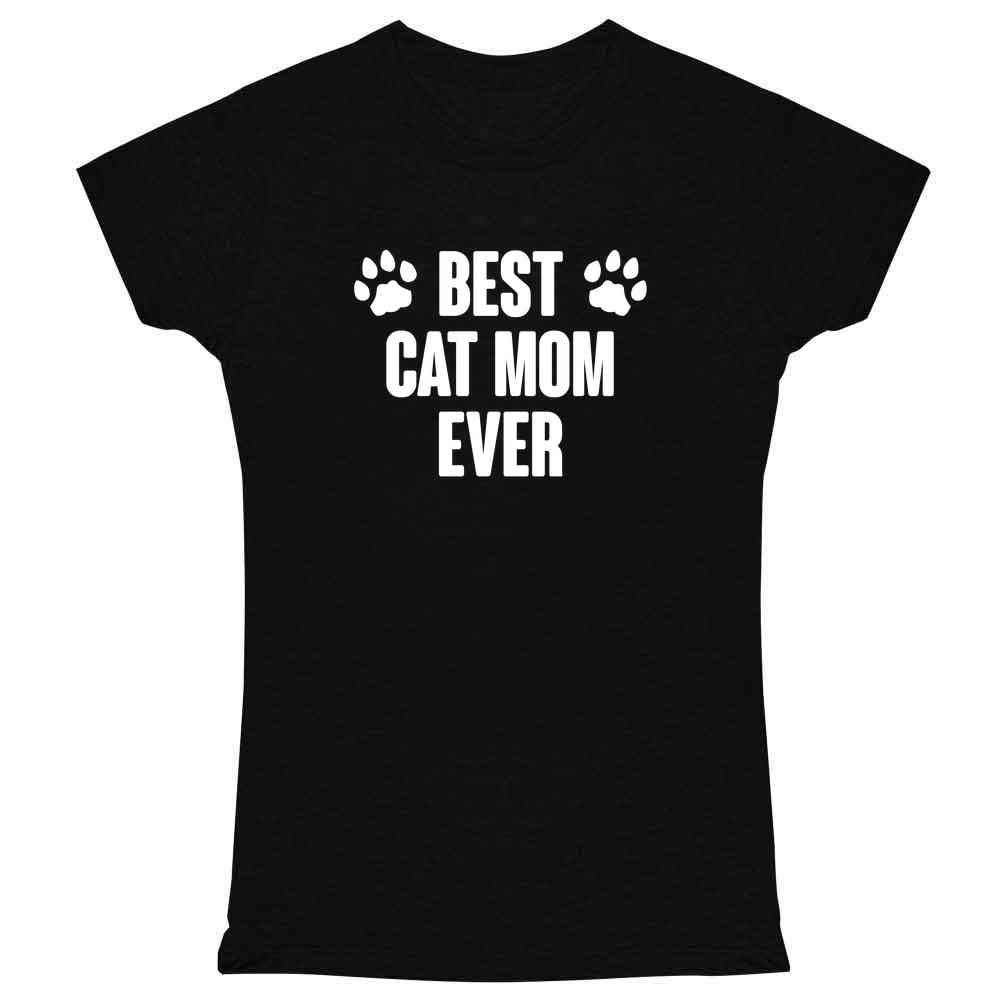 Funny Cat Gifts for Cat Lovers Cute Kitty Meme Graphic Tee T Shirt for Women