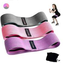 MQOUNY Booty Bands,Non Slip Resistance Bands for Legs and Butt Resistance Loop Bands Mini Hip Circle Loop Sliders Fitness Thigh Glute Bands Set of 3