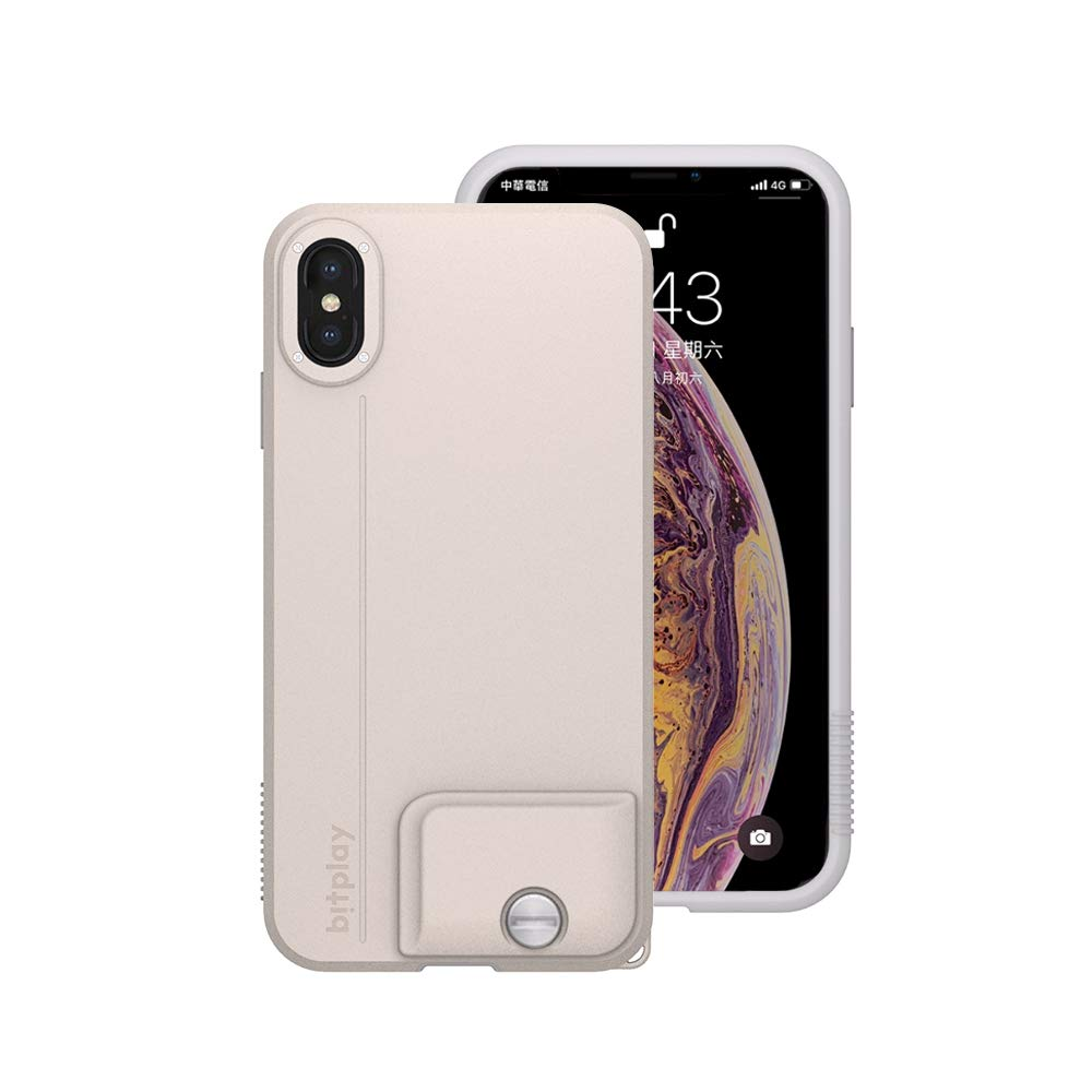 New bitplay SNAP! Case in Khaki White - Camera Case for iPhone Xs Max (Lenses Not Included)