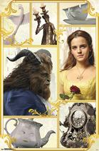 "Trends International Beauty and The Beast Group Wall Poster 22.375"" x 34"""