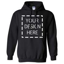 Add Your Own Text and Design Custom Personalized Sweatshirt Hoodie Couple Hoodies Company Culture Hoodie