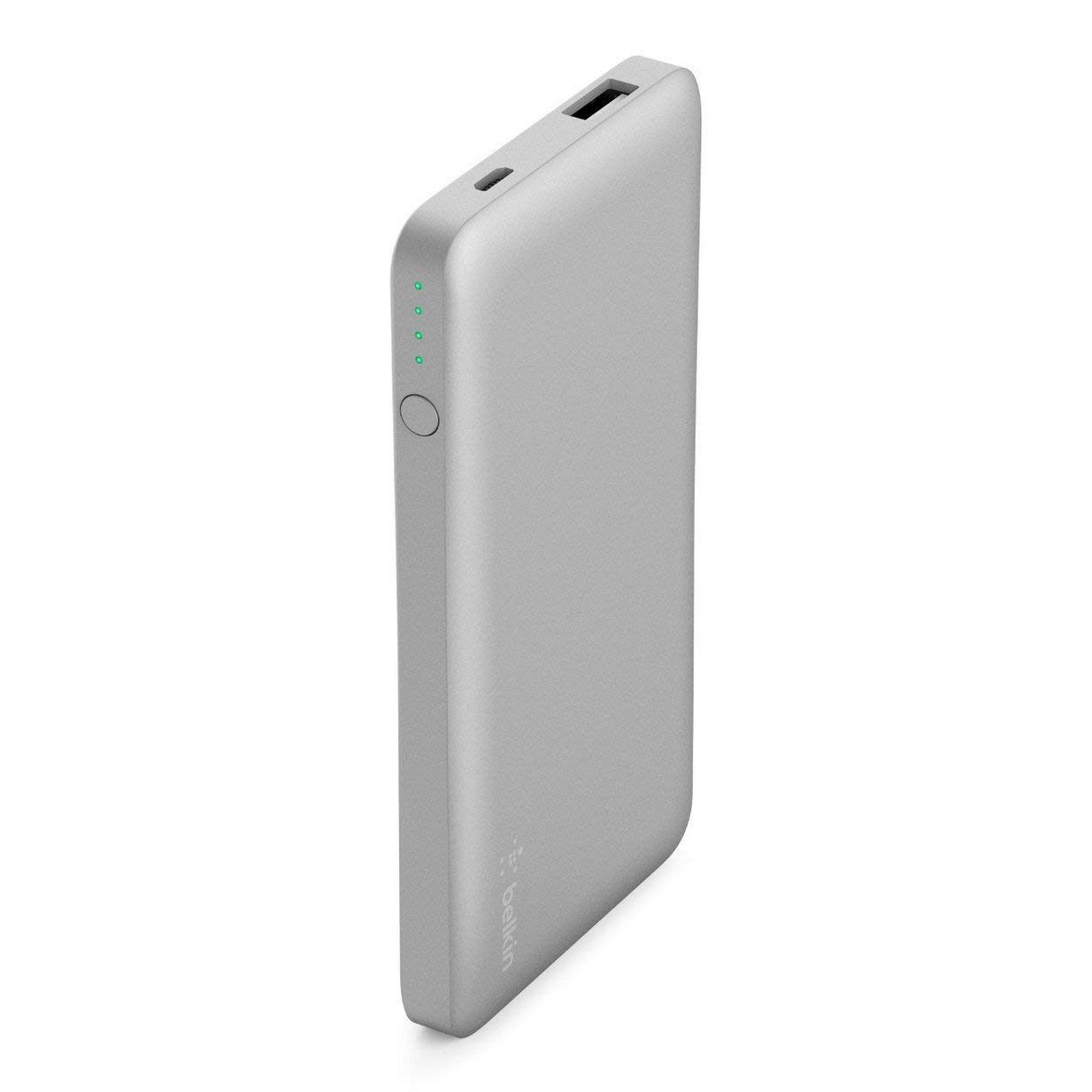 Belkin 5,000mAh Power Bank Battery Pack (Silver)
