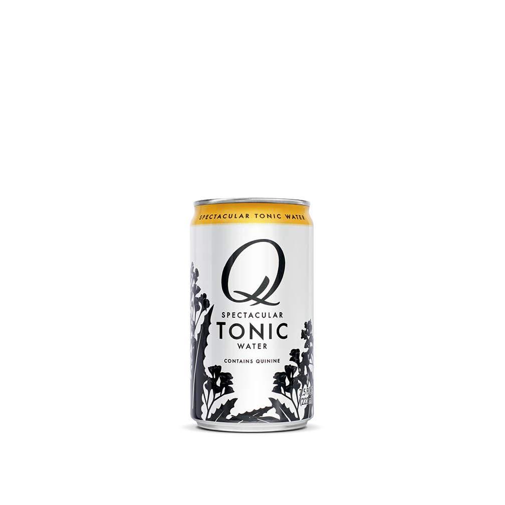 Q Mixers Tonic Water, Premium Cocktail Mixer, 7.5 oz (24 Cans)