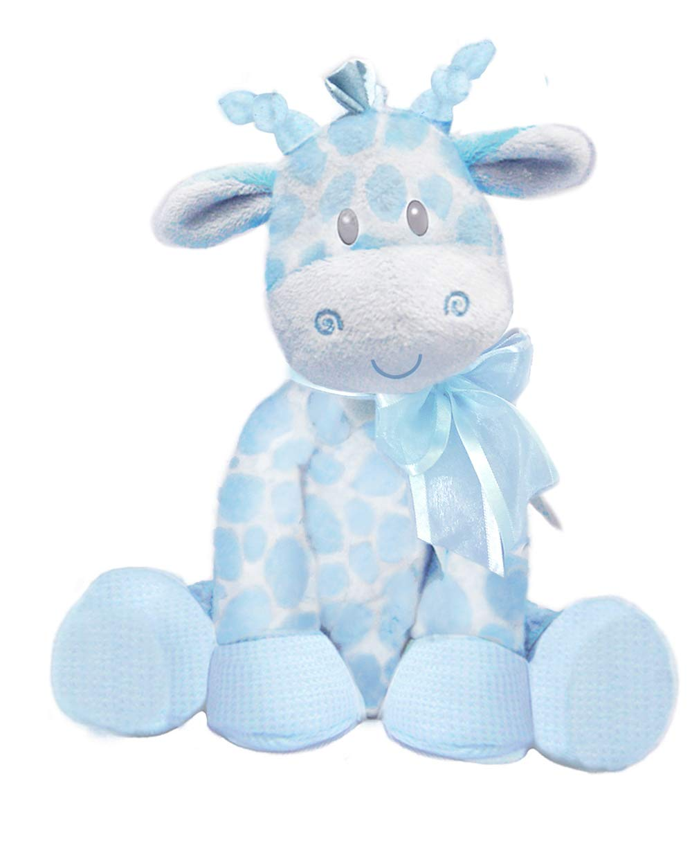 "First & Main 8.5"" Blue Jingles Giraffe"