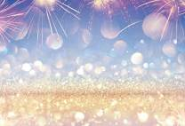 Baocicco 10x8ft Splendid Firework Backdrop Champagne Glitters Bokeh Dreamy Romantic Halo Photography Background Birthday Party Wedding Quinceanera Events Celebration Photo Booth Props