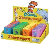 Dr Seuss Eraser and Pencil Sharpener Assortment, 24 Pieces (67145)