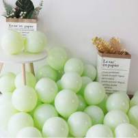 """100pcs 10"""" Party Decoration Pastel Color Balloons Macaron Candy Colored Latex Balloons for Birthday Wedding Engagement Anniversary Christmas Festival-Macaron Green"""