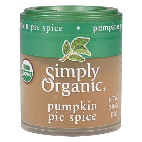 Simply Organic Pumpkin Pie Spice, Certified Organic | 0.46 oz | Pack of 6