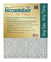 Accumulair Gold 16x19x1 (15.5 x 18.5) MERV 8 Air Filter/Furnace Filters (4 Pack)