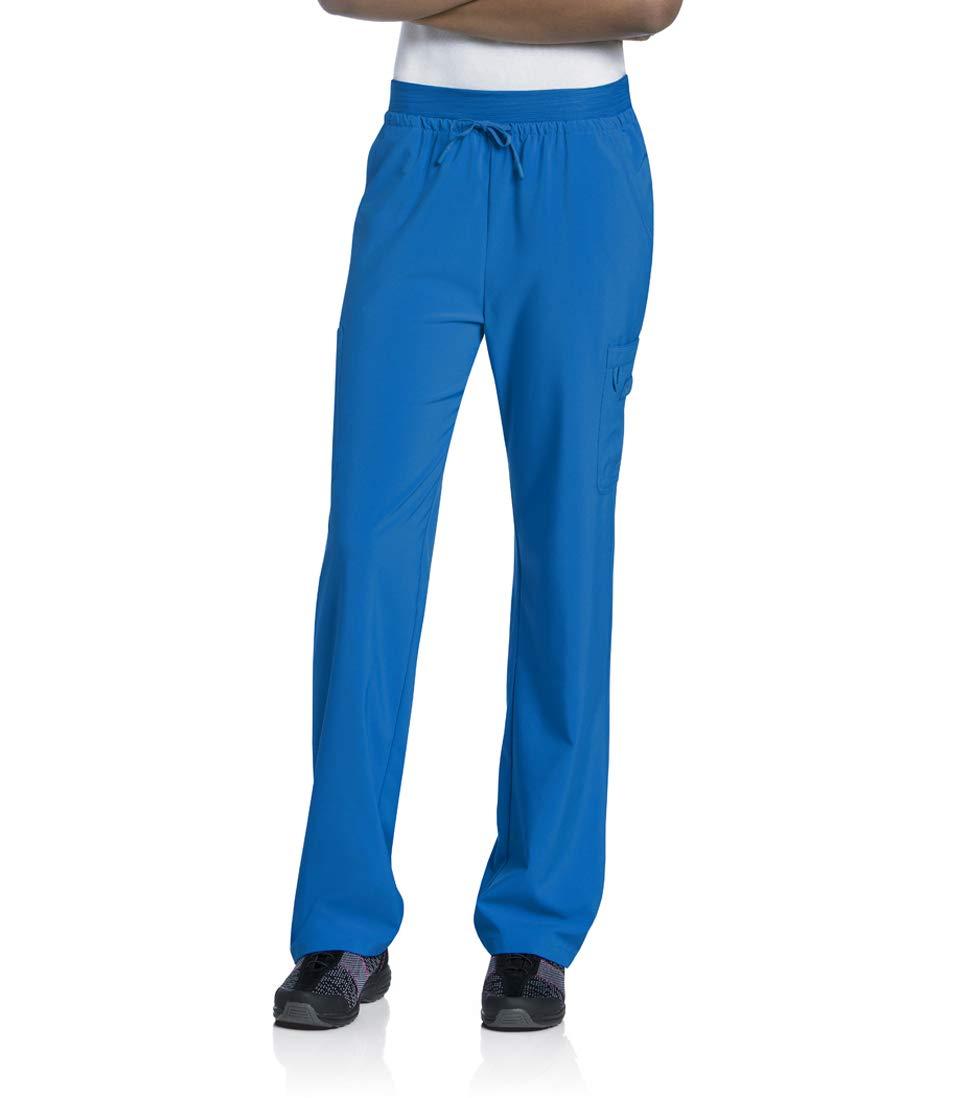 Landau Women's Quick Cool Double Cargo Scrub Pant with 4 Way Stretch
