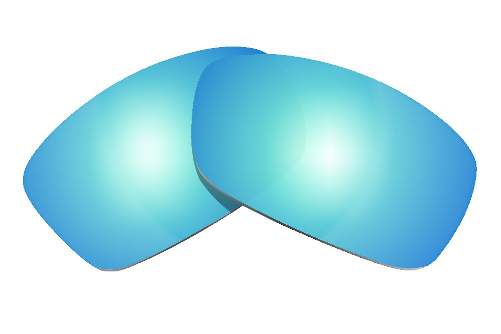 Littlebird4 Polarized Replacement Lenses for Oakley Hijinx Sunglasses - Ice Blue