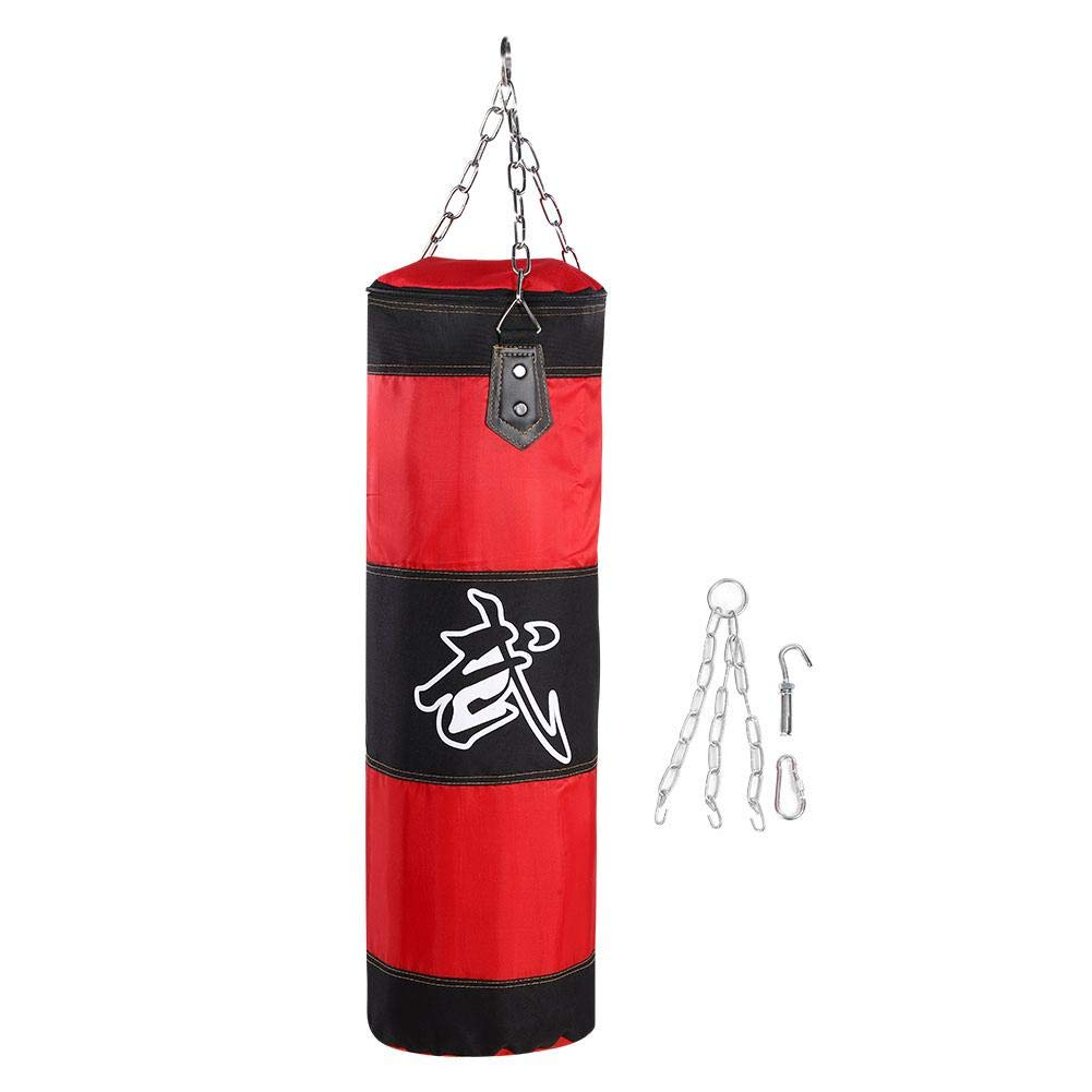 Alomejor Boxing Punch Bag Heavy Duty Punching Bag with Chains for Boxing Training Fitness Sandbag