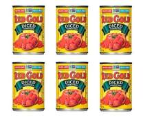 Red Gold | Diced Tomatoes | 14.5oz Can (Pack of 6)