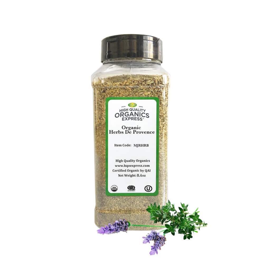 HQOExpress | Organic Herbs De Provence | 8.4 oz. Chef Jar