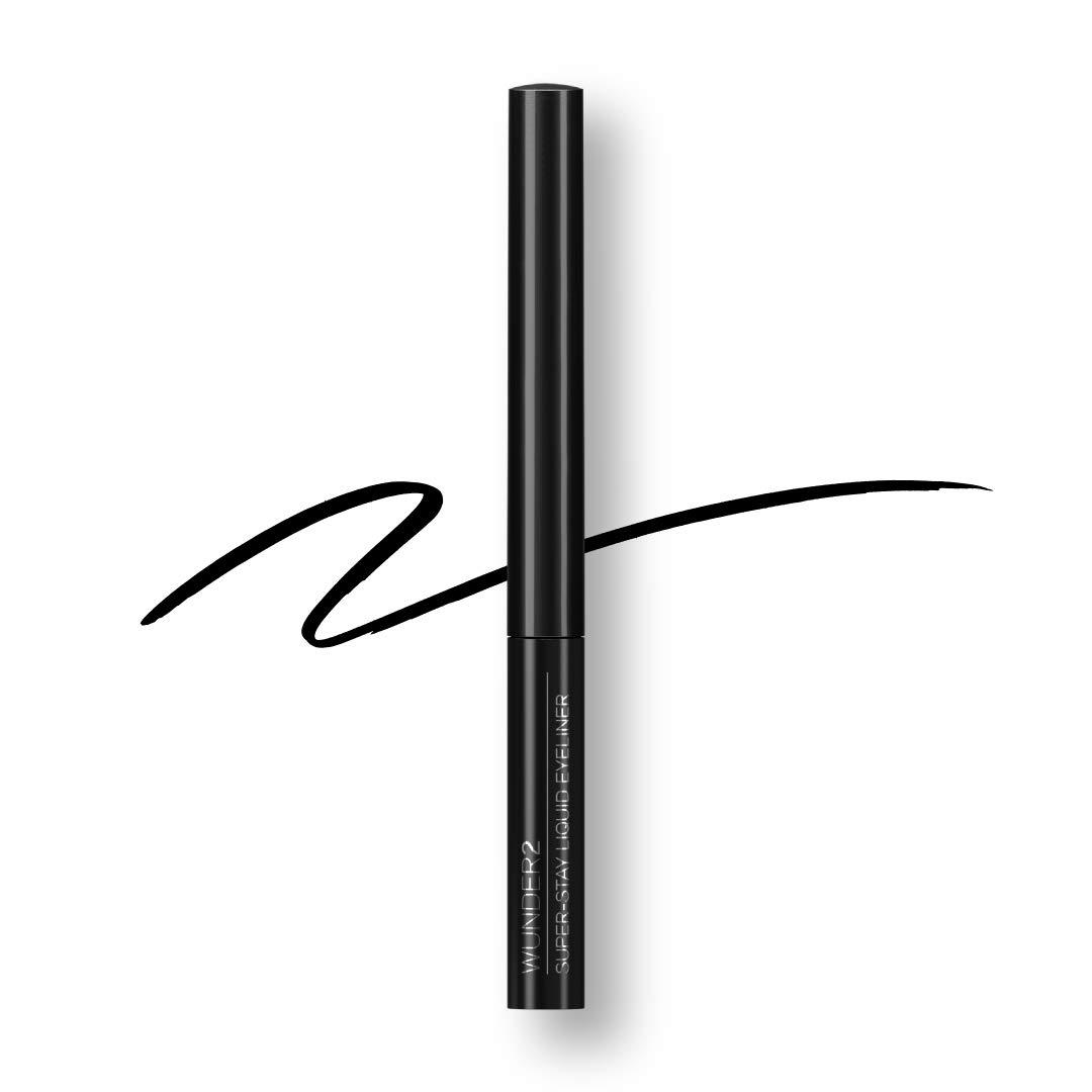 SUPER-STAY Long Lasting & Waterproof Liquid Eyeliner Black, 0.058 Fluid Ounce