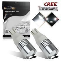 Partsam Super White High Power LED Bulbs for Car Backup Reverse Lights 912 921 T10 T15, Pack of 2pcs