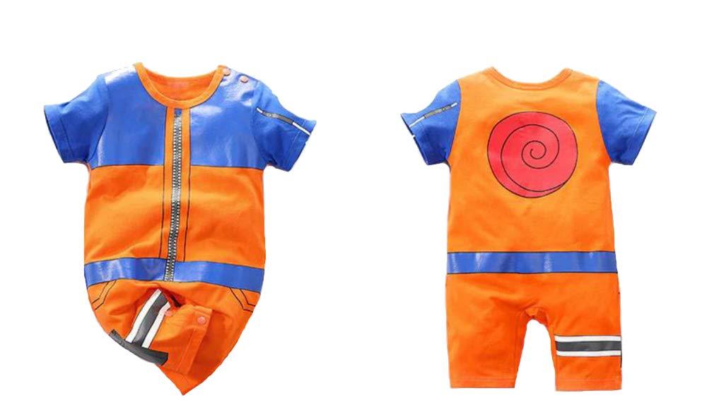 Cosplay Life Naruto Shippuden Baby Naruto Akatsuki Romper   0 Months to 2 Years   100% Cotton