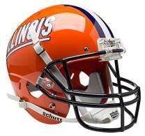 Schutt NCAA Illinois Fighting Illini Collectible Replica Helmet