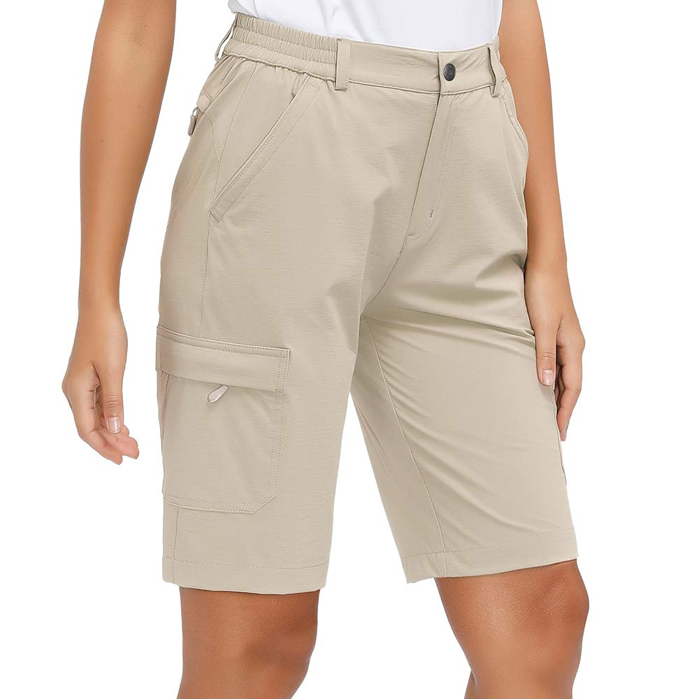Libin Women's Lightweight Hiking Shorts Quick Dry Cargo Shorts, Stretch, UPF 50, Water Resistant
