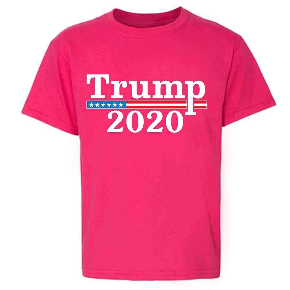 Donald Trump 2020 Pro Trump MAGA Merchandise USA Toddler Kids Girl Boy T-Shirt