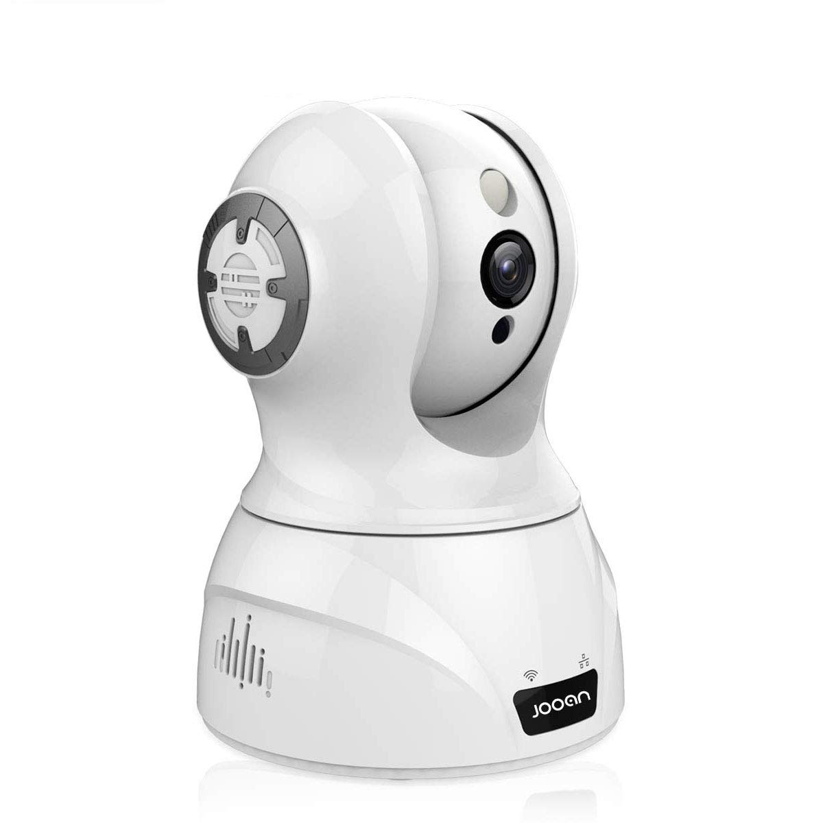 1536P WiFi Home Security Camera 3MP Surveillance Wireless System HD IP Camera for Pet Elder Nanny Baby Monitor Work with Alexa -White