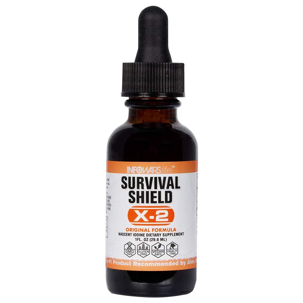 Infowars Life - Survival Shield X-2 Nascent Iodine (1 oz)