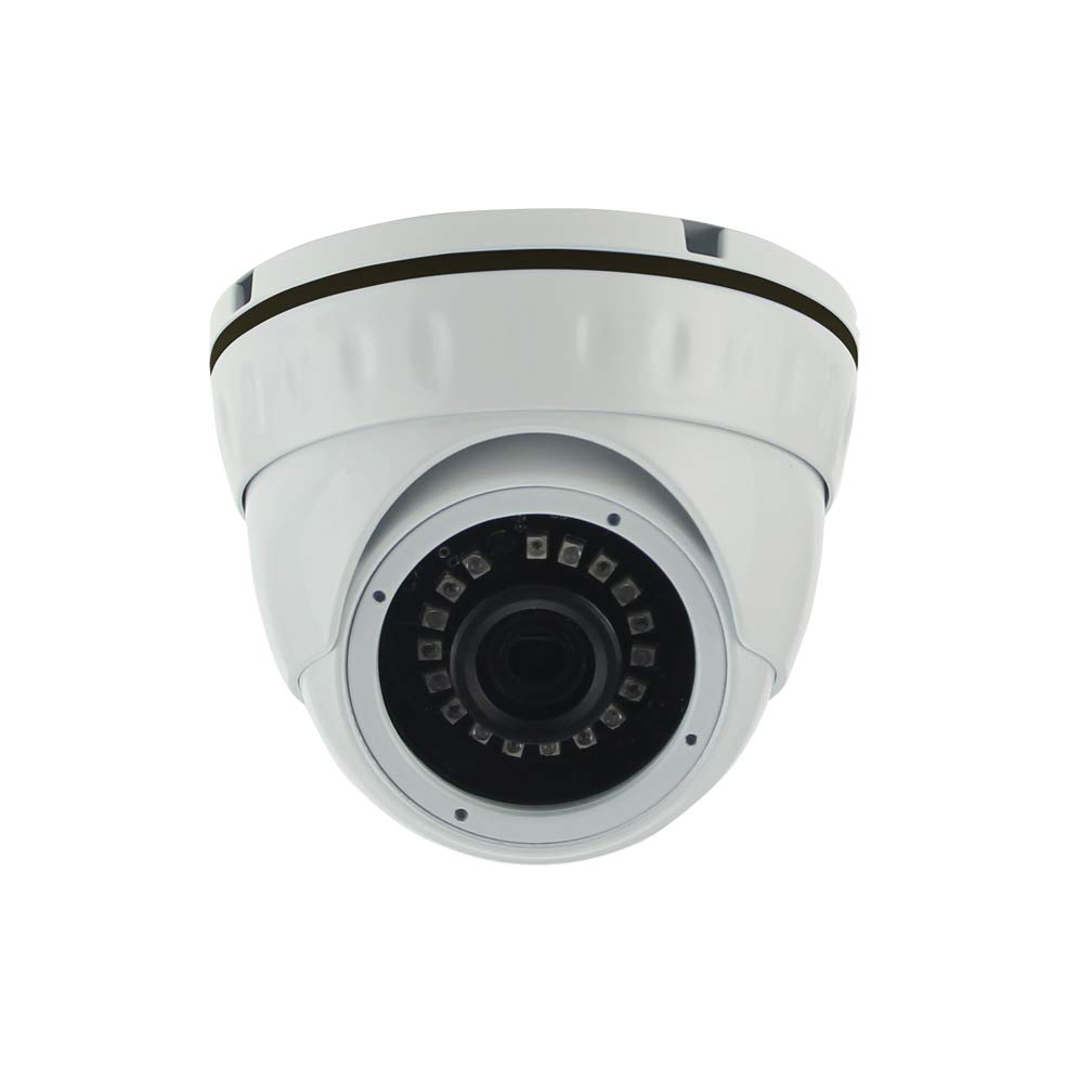Ares Vision 2MP (1080P) 4 in 1 AHD/TVI/CVI/Analog Dome Fixed 2.8mm Wide Angle Lens Camera, Indoor/Outdoor w/IR Night Vision