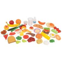 Kaplan Early Learning Company Healthy Eating Food Set (48 Pieces)