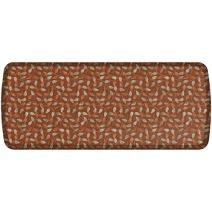 """GelPro Elite Premier Anti-Fatigue Kitchen Comfort Floor Mat, 20x48"""", New Leaves Amber Stain Resistant Surface with therapeutic gel and energy-return foam for health & wellness"""