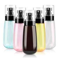 Travel Bottles TSA Approved, FORTGESCHE BPA Free Silicone Squeeze Leak Proof Refillable Travel Size Cosmetic Toiletry Containers Accessories for Shampoo Lotion Liquids(6 Pack)