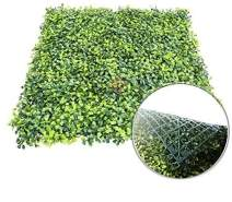 """Patio Paradise 6pcs 20""""x20"""" Artificial Boxwood Hedge Panel, Decorative Privacy Fence Screen Greenery Faux Plant Tree Wall for Indoor or Outdoor Garden Décor"""