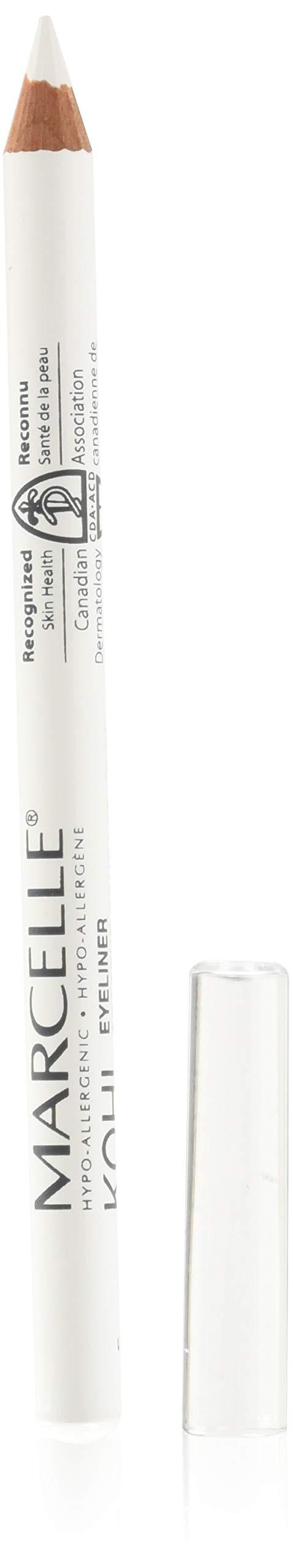Marcelle Kohl Eyeliner, White, Hypoallergenic and Fragrance-Free, 0.04 oz