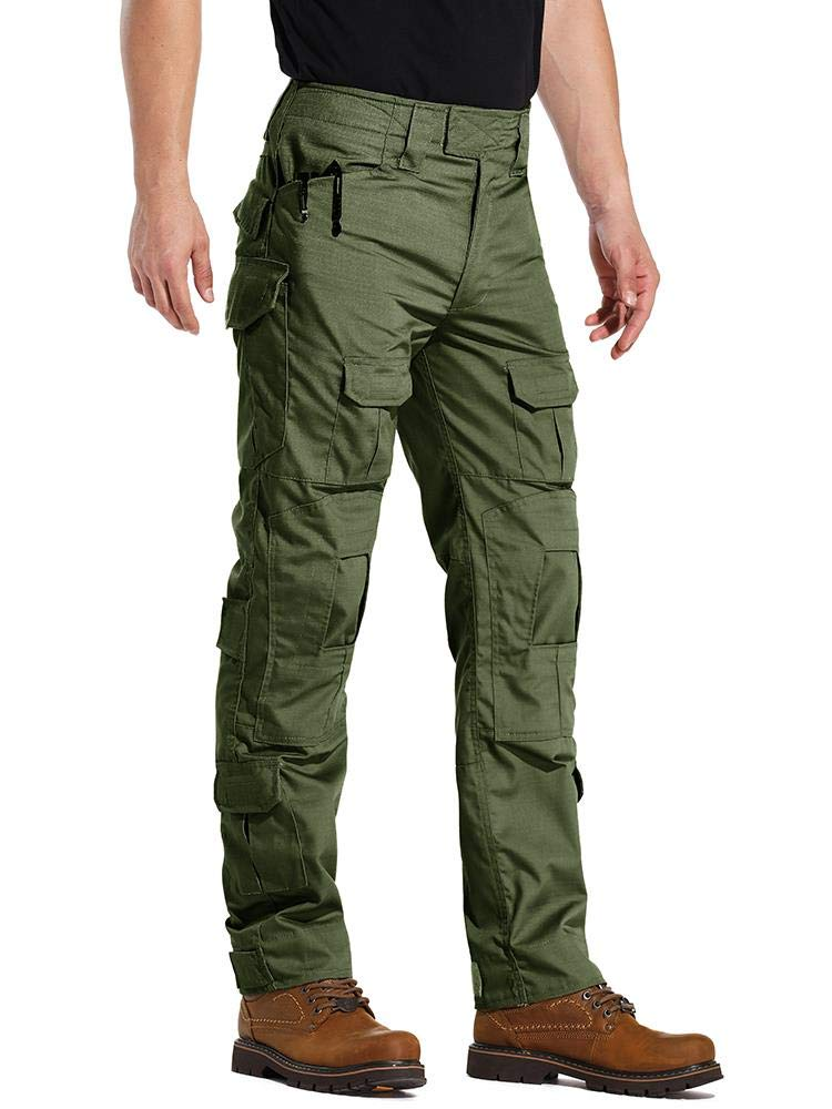 AKARMY Men's Military Tactical Casual Camouflage Multi-Pocket BDU Cargo Pants Trousers