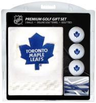 "Team Golf NHL Gift Set Embroidered Golf Towel, 3 Golf Balls 14 Golf Tees 2-3/4"" Regulation, Tri-Fold Towel 16"" x 22"" & 100% Cotton"
