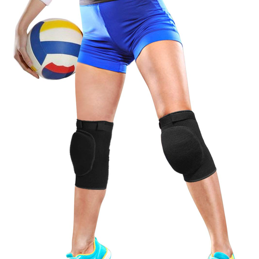 Knee Braces | BrilliStar Breathable Support Brace Knee | Suitable for Dance Basketball Volleyball Anti-Slip Sponge Knee Pads