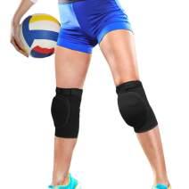 Knee Braces | BrilliStar Breathable Support Brace Knee | Suitable for Dance Basketball Volleyball Anti-Slip Sponge Knee Pads