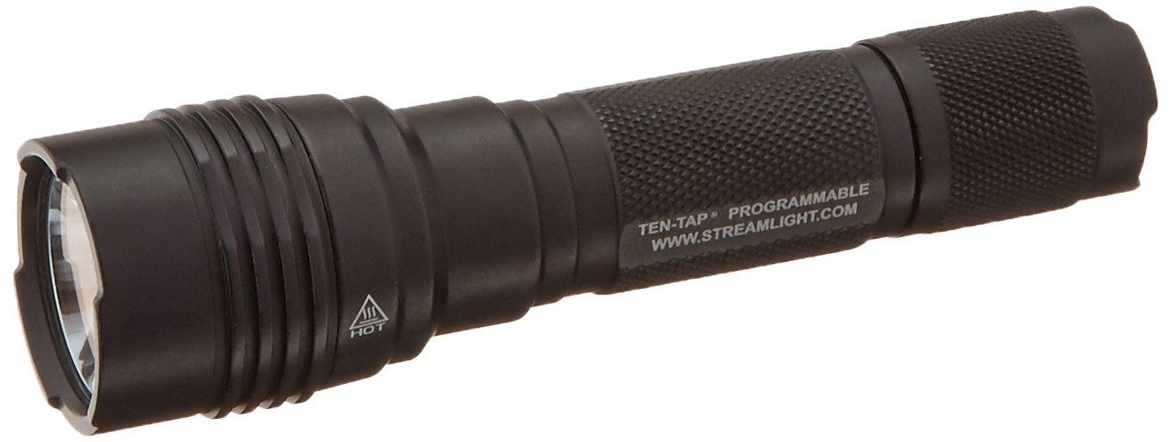 Streamlight 88064 ProTac HL-X - Includes two CR123A lithium batteries and holster, Clam, Black - 1000 Lumens