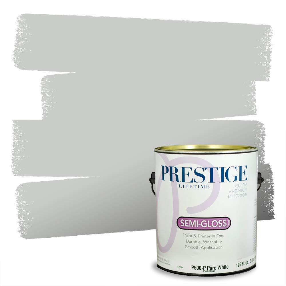 PRESTIGE Interior Paint and Primer in One, 1-Gallon, Semi-Gloss, Sea Wall