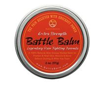 Battle Balm Extra Strength Pain Relief Cream (1.9-Ounce) - All-Natural and Organic Topical Analgesic for Arthritis, Muscle Soreness, Sprains, Strains, Bruises and More. Professionally Approved.