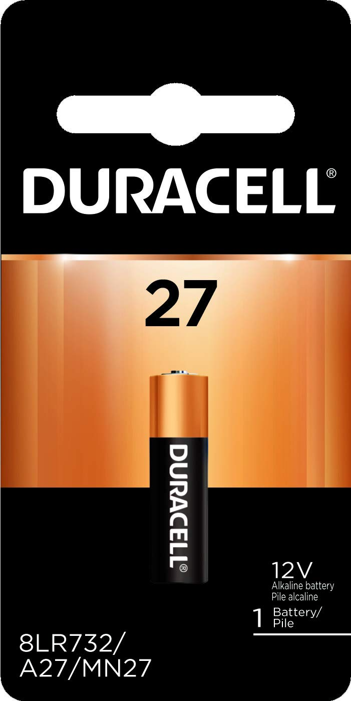 Duracell - 27 12V Specialty Alkaline Battery - long-lasting battery - 1 Count