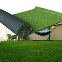 LITA Artificial Grass 6' x 8' (48 Square Feet) Realistic Fake Grass Deluxe Turf Synthetic Turf Thick Lawn Pet Turf -Perfect for Indoor/Outdoor Landscape (20mm high Pile) Customized