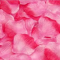 Magik 1000~5000 Pcs Silk Flower Rose Petals Wedding Party Pasty Tabel Decorations, Various Choices (2000, Red & Pink)