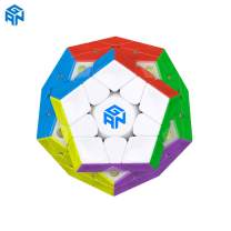 GAN Megaminx M, Pentagonal Magnetic Speed Cube, Stickerless